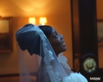 sasnn-photo portfolio wedding bride look up