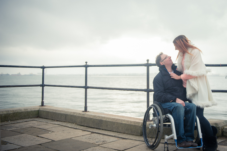 Pre-wedding photoshoot in Southampton N3