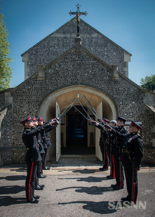 Military wedding in Wiltshire 2
