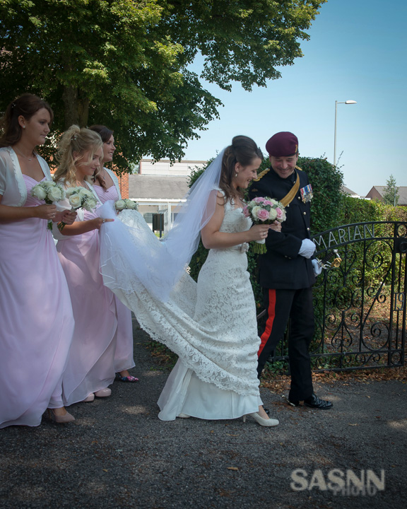 Military Wedding photography in Wiltshire 4