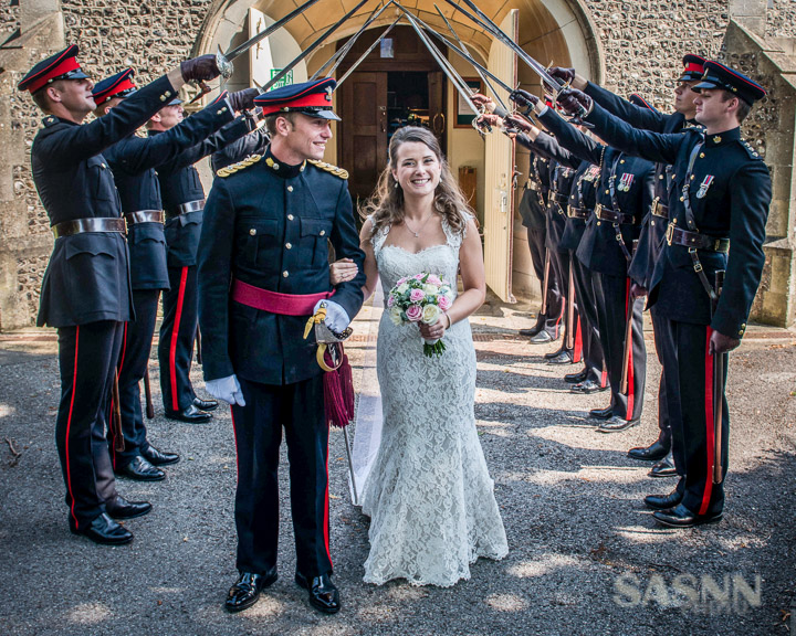 Military wedding photography in Wiltshire 6
