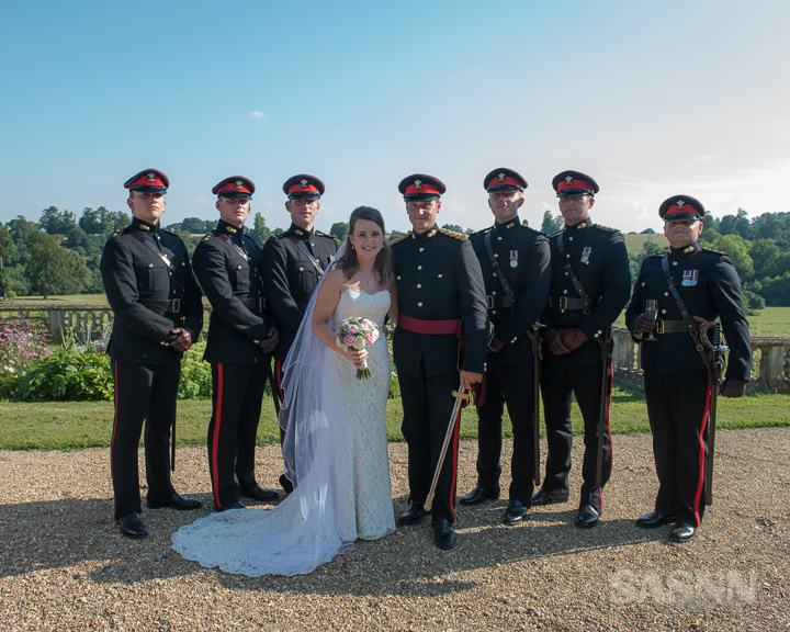 Military wedding photography in Wiltshire 8
