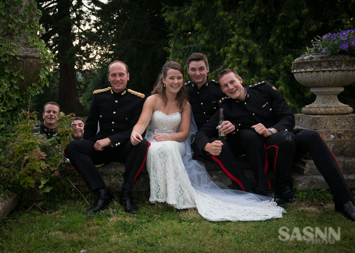 Military wedding photography in Wiltshire 9