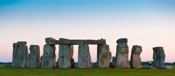 Stonehenge at Dusk.