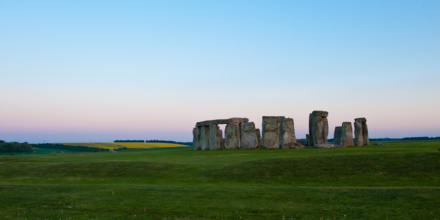 Stonehenge at dusk